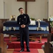 Politieman op de rand van een zenuwinzinking