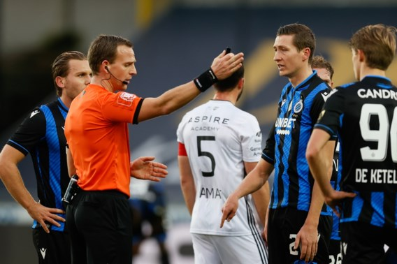 Drie wedstrijden schorsing in plaats van vier voor Hans Vanaken (Club Brugge)