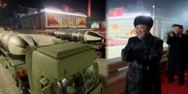 Noord-Korea toont 'krachtigste ballistische raketten ter wereld' tijdens militaire parade