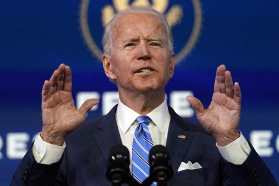 Biden wil alle Amerikanen 1.400 dollar schenken
