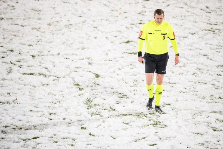 Voetbal op besneeuwde velden: Genk en Kortrijk tekenen voorbehoud aan
