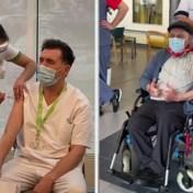 Eerste vaccinaties met Moderna-vaccin, tweede dosis voor Jos Hermans