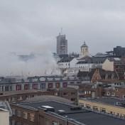 Brand in Bozar onder controle