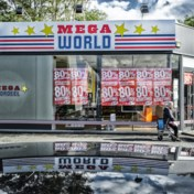 Geen overnemer voor failliete keten Mega World