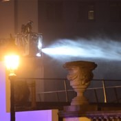 Waterschade in Henry Le Boeufzaal in Bozar na brand