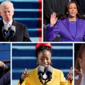 Een historische inauguratie in vijf opvallende momenten