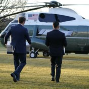 Blog VS | Helikopter die Trump naar Air Force One zal brengen, is geland