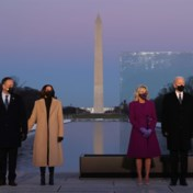 Biden en Harris houden eerbetoon voor 400.000 coronaslachtoffers