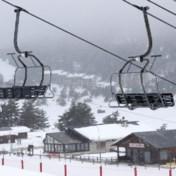 Franse skigebieden blijven op slot