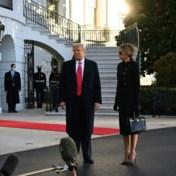 Trump is vertrokken. Maar hij komt terug, zegt hij