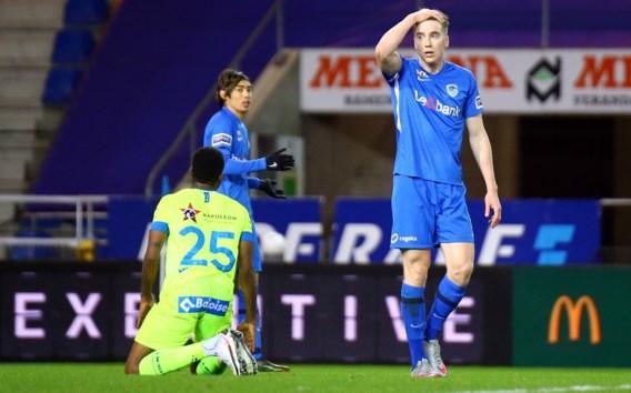 Genk overleeft 80 minuten met tien man tegen AA Gent (en had eigenlijk nog kunnen winnen)