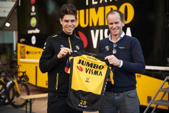 Wout van Aert verlengt contract bij Jumbo-Visma tot en met 2024