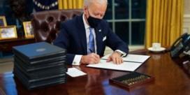 Deze decreten ondertekende Biden: annulering moslimban, opschorting financiering grensmuur, mondmaskerplicht