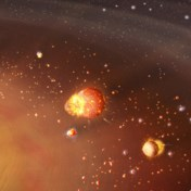 Ons zonnestelsel vertrok als een tweetrapsraket