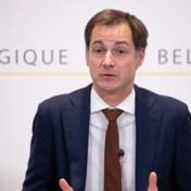 Premier De Croo: 'We moeten dammen opbouwen tegen de mutaties van het virus'