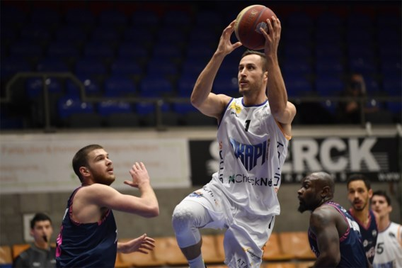 Mihailovic stuwt Okapi Aalst met 45 punten naar laatste vier Belgische Cup
