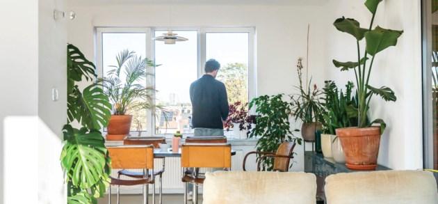 Het penthouse van Pieter in Borgerhout: beperkt budget, grootse ruimte