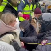 Meer dan 1.000 aanhangers Navalni opgepakt op betogingen