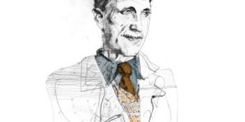 De essayist George Orwell is net zo goed als de schrijver