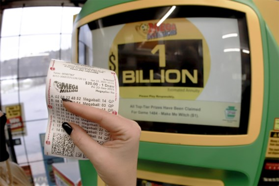 Amerikaan wint 608 miljoen euro in loterij