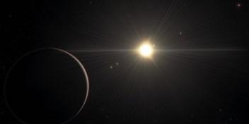 Een wiskundige natte droom in de ruimte