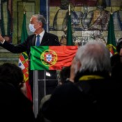 Portugese president herverkozen met meer dan 60 procent