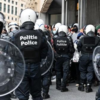 Honderd arrestaties na afloop niet-toegelaten betoging