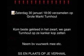 Burgemeester Turnhout: 'Protest komt van mensen die de sociale media misbruiken'