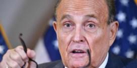 Monsterbedrag van Trumps advocaat Giuliani geëist