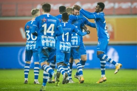 AA Gent kan twaalfde nederlaag nipt vermijden met doelpunt in slotseconde