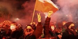 Opnieuw protest in Polen: omstreden abortusverbod bijna van kracht