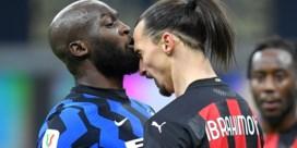 Zlatan Ibrahimovic en Romelu Lukaku in de clinch in zinderende stadsderby: 'Ezel' en 'fils de pute'