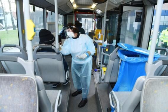 Voor elke provincie een mobiele bus: 750 tests per dag