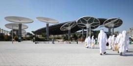 Futuristisch paviljoen opgeleverd voor wereldexpo rond duurzaamheid in Dubai
