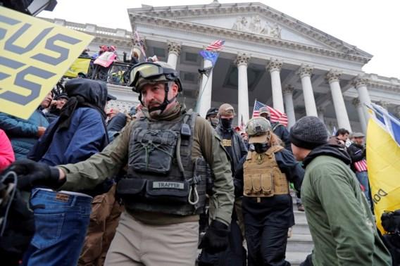 Gewezen militairen bestormden Capitool: 'Onze plicht te doden en te sterven voor onze rechten'
