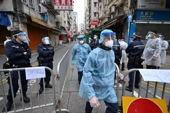 Al verschillende 'verrassingslockdowns' opgelegd in Hongkong