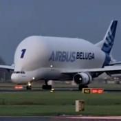Zeldzaam vrachtvliegtuig maakt onverwachte tussenstop op Schiphol