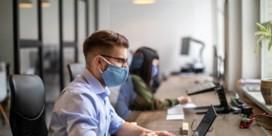 Mondmaskers voortaan ook aangeraden op kantoor