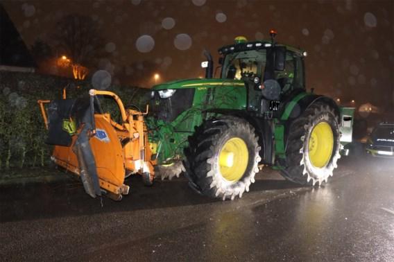 Dronken Duitser richt 100.000 euro schade aan met gestolen tractor