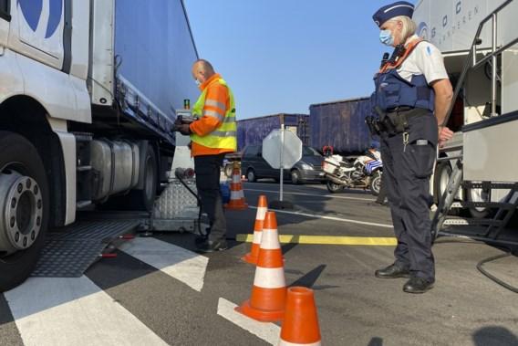 Drie weken lang controles op zwaar vervoer in provincie Antwerpen