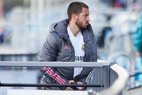 Real Madrid bevestigt nieuwe blessure Eden Hazard: 'Vier tot zes weken out'