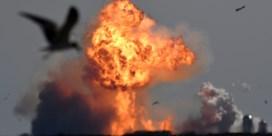 Prototype Marsraket van SpaceX ontploft opnieuw bij landing