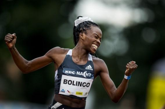 Cynthia Bolingo bij eerste 400 meter in twee jaar meteen vlak bij EK-limiet