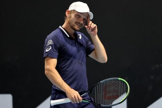 17-jarige 'nieuwe Rafael Nadal' is in twee sets te sterk voor David Goffin