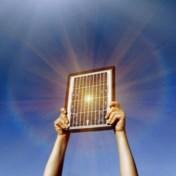 Kijk eens achter het zonnepaneel