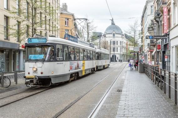 Weinig tramverkeer in Antwerpse ochtendspits door stroompanne