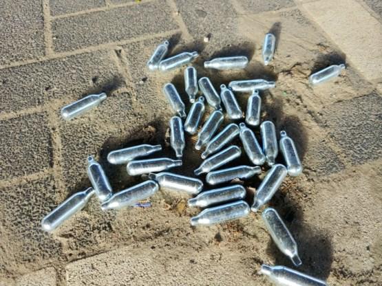 Gentse politie neemt 424 kilogram lachgas in beslag