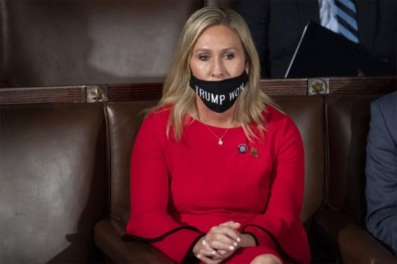 Republikeinen willen niet optreden tegen QAnon-aanhangster