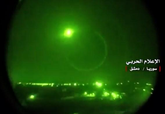 Syrische staatsmedia melden Israëlische raketaanval