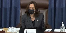 Harris helpt Bidens coronasteunpakket door Senaat